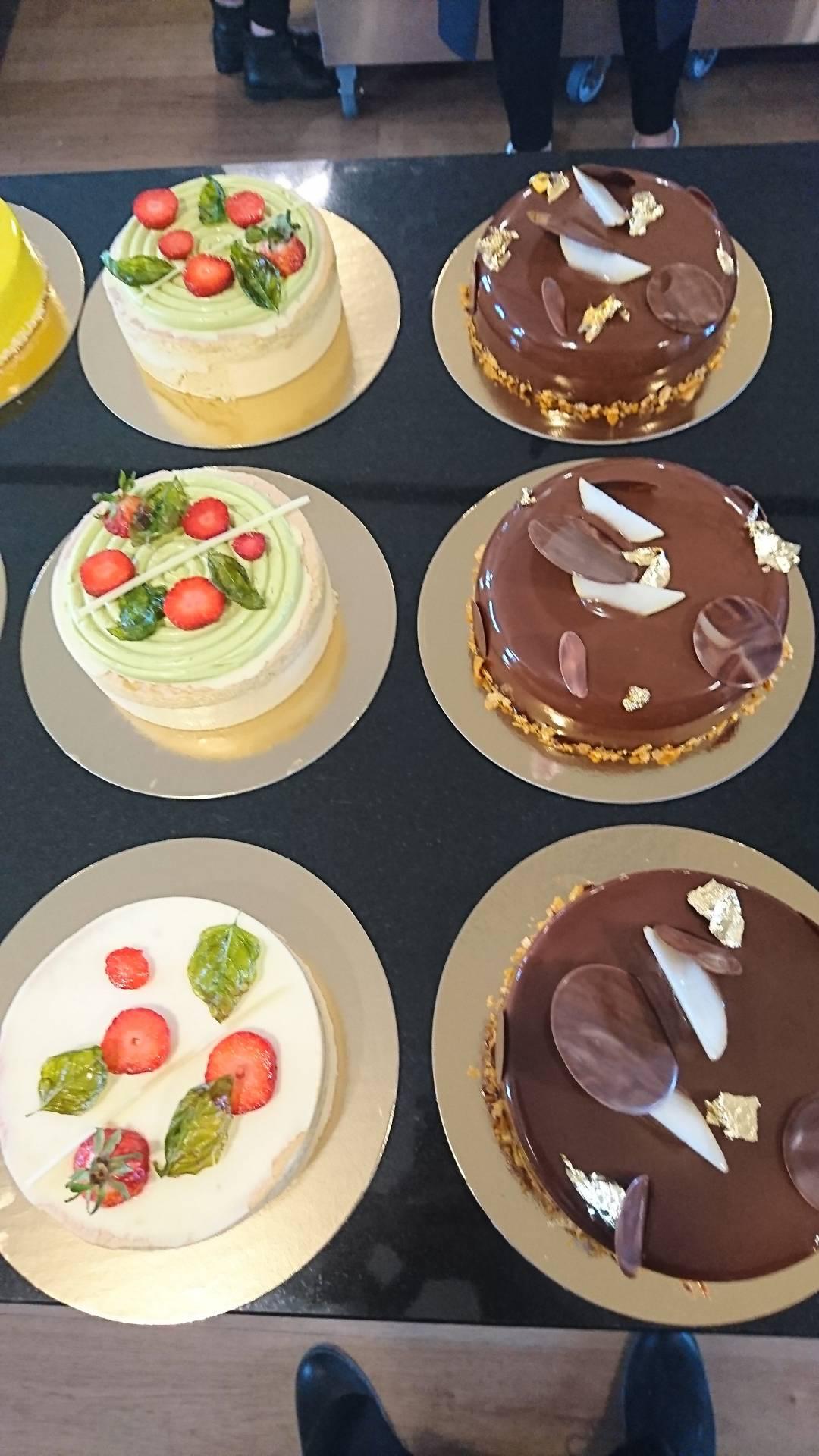 Ciasta owocowe i czekoladowe